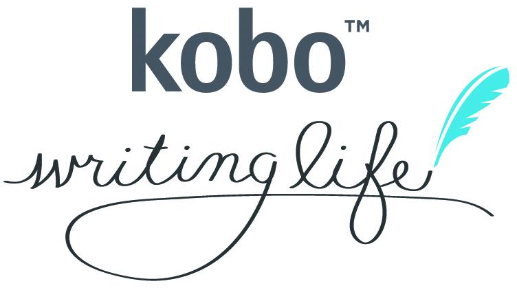 Figure 2 - Le bandeau «Kobo writing               life»
