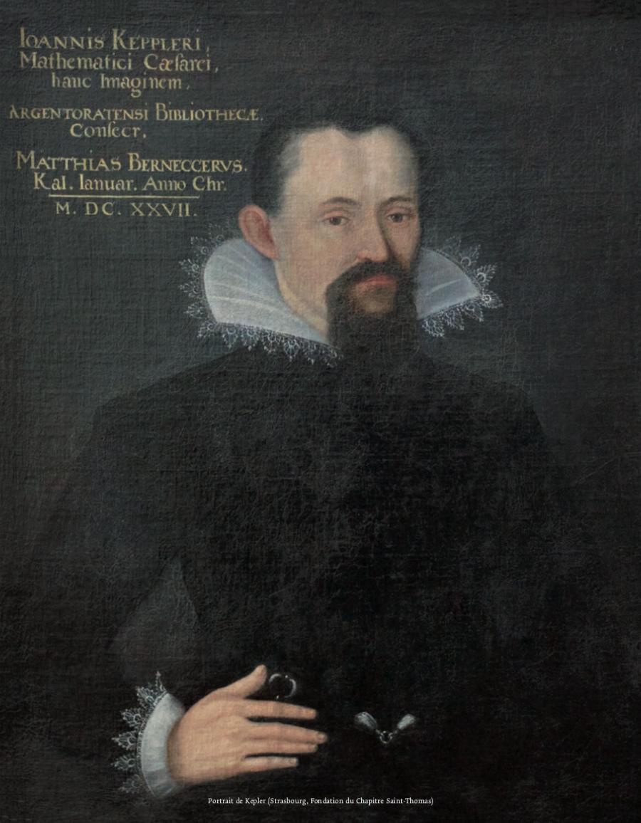 Figure 1 – Portrait de Kepler (Strasbourg,           Fondation du Chapitre Saint-Thomas)