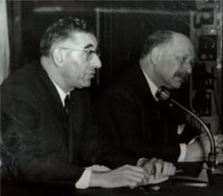 Figure 13 – Éric Weil et Paul Ricoeur,           février1967 (coll. Institut Éric Weil).