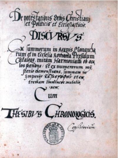 Figure 5 – Page de titre du  de Röslin             (coll. Württembergische Landesbibliothek Stuttgart)