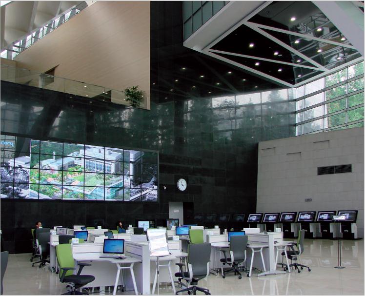 Figure 1 – La Bibliothèque nationale de Corée:           à l'image de la bibliothèque scientifique de demain?