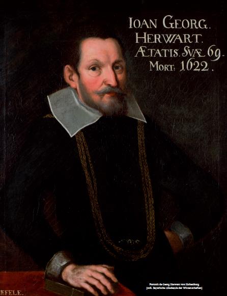 Figure 3 – Portrait de Georg Herwart von             Hohenburg (coll. Bayerische Akademie der Wissenschaften)