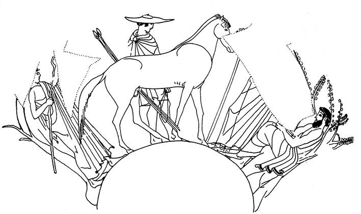 Figure 9 - Coupe du peintre de la Dokimasie, Berlin F             2296