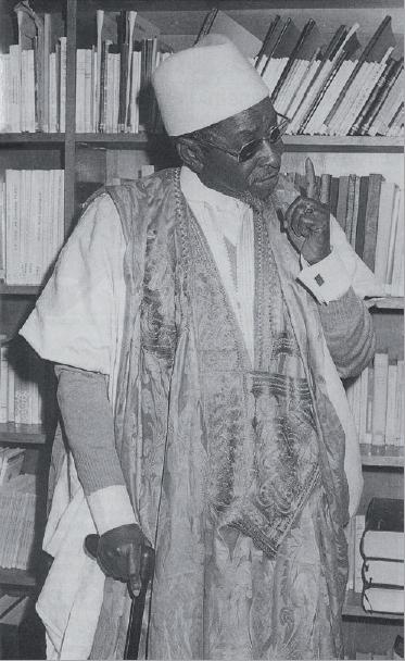 Figure 4 – Amadou Hampâté Bâ (collection             particulière)