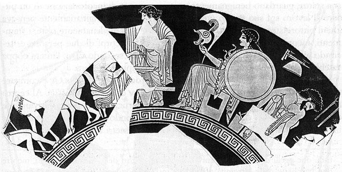 Figure 6 - Coupe du peintre d'Euergides, Acropole 166