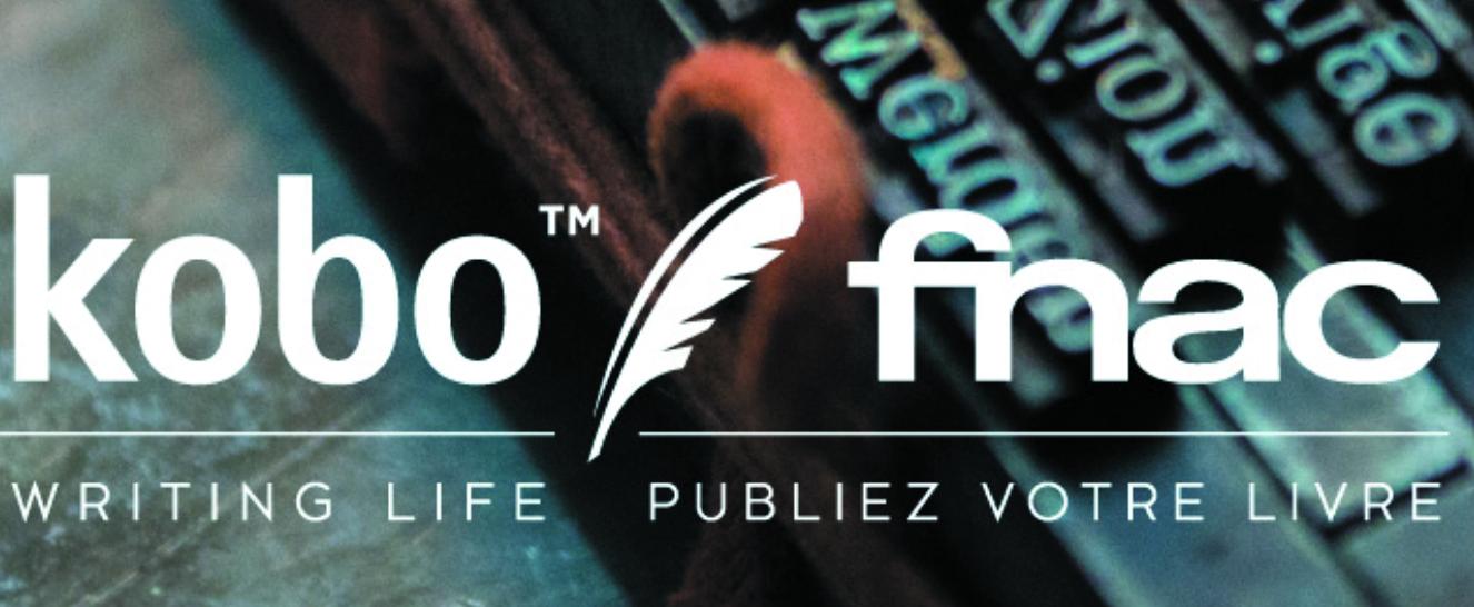 Figure 1 - Le logo de «Writing Life» de               Kobo et Fnac