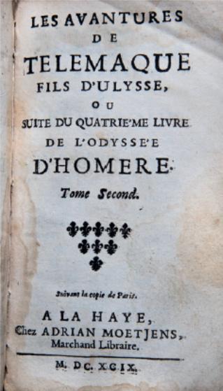Figure 3 – Deux des nombreuses éditions des            parues clandestinement           en1699, l'année de la première édition (coll. J.LeBrun).